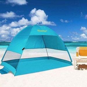 $35.69(原价$47.99)闪购:Alvantor 海滩防晒帐篷