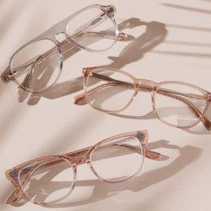 镜架5折+整单低至7.5折+免邮Zenni Optical 热销时尚眼镜网络周大促 防雾、防蓝光镜片可选