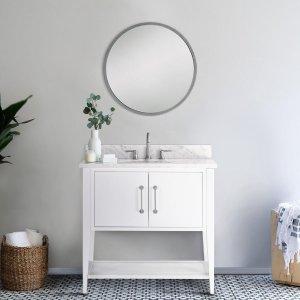 HouzzBergen Single Bathroom Vanity - Transitional - Bathroom Vanities And Sink Consoles - by Houzz