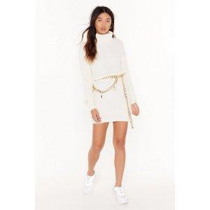 Sweater Together Turtleneck Mini Dress | Shop Clothes at Nasty Gal!