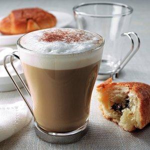 $12.99(原价$16.99)Bormioli Rocco Oslo 经典咖啡杯套装 4个