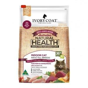 Ivory Coat Chicken & Kangaroo Grain Free Adult Cat Food 6Kg