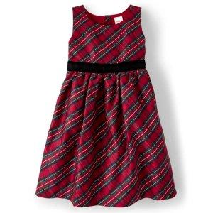 Gymboree格子连衣裙