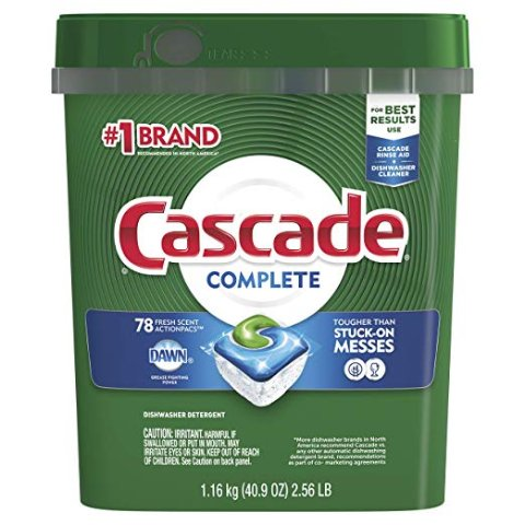 Cascade 清香型洗碗机用洗涤剂 78粒装