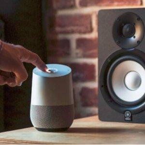 $95(原价$119)智能家居Google Home 智能家庭助手 无线蓝牙音箱