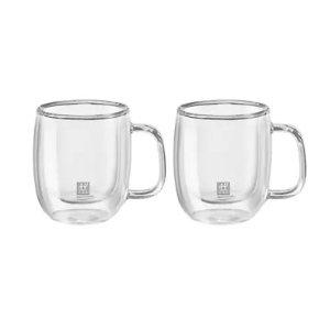 Zwilling J.A. Henckels双立人双层隔热咖啡杯2件套