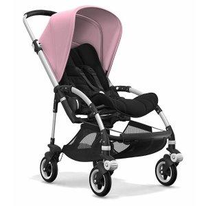 BugabooNew inBee5 Complete Stroller - Aluminum/Black/Soft Pink