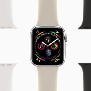 $584 (原价$649)黑色款Apple Watch Series 4 GPS 44mm 智能手表