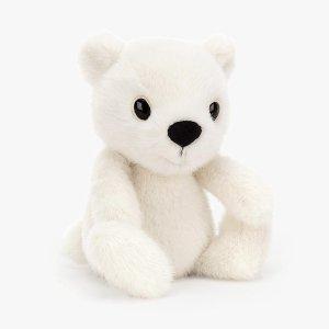 5折!仅£7速抢!史低价:Jellycat 圣诞限量北极熊仅£7!买即赚到!