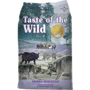 Taste of the WildSierra Mountain Grain-Free Dry Dog Food, 28-lb bag - Chewy.com
