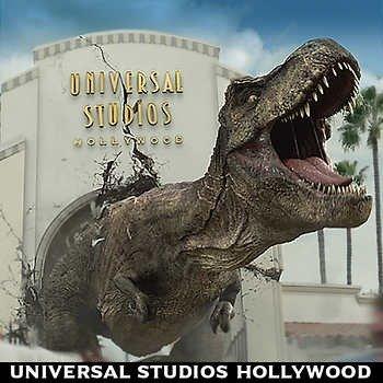 加州好莱坞环球乐园三次入园门票