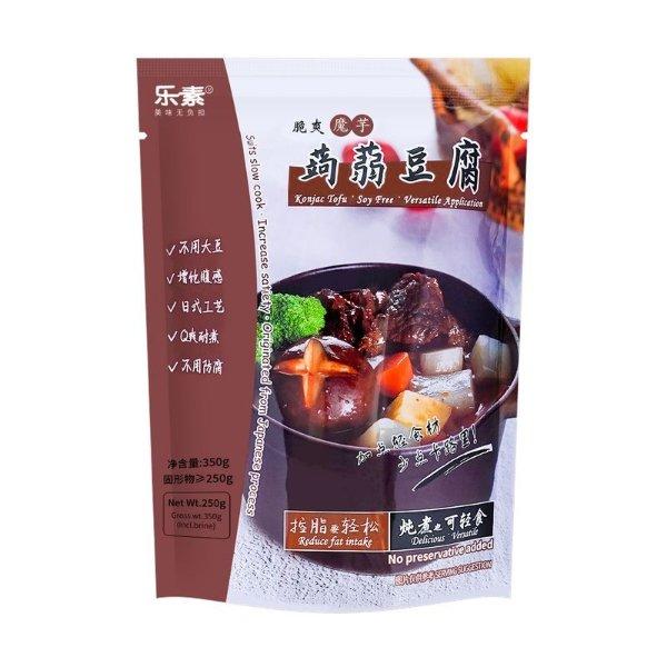 乐素 蒟蒻豆腐 350g
