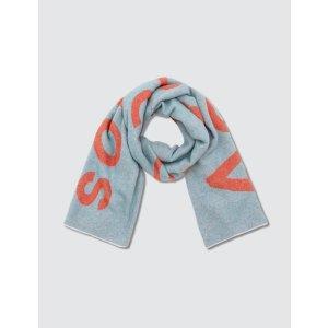 Acne Studios新款配色围巾