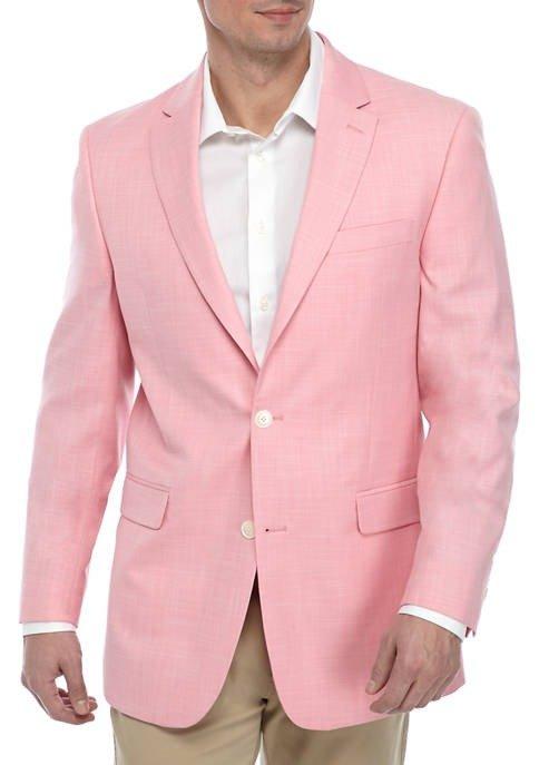 Berry White Diagonal 西装外套