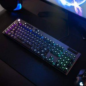 低至6.6折 €109.9起黑五价:Logitech G815 LIGHTSYNC 游戏键盘 RGB灯光 3种轴体可选