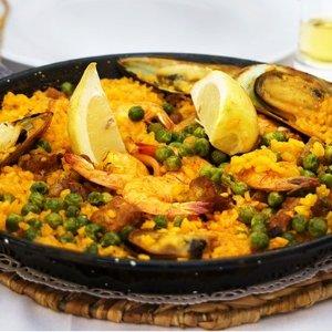 德国小吃货:Espanita 西班牙海鲜拌饭2人份 坐标法兰克福