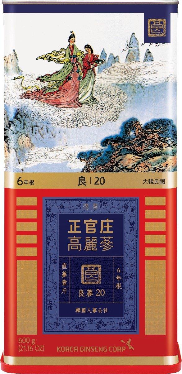 6年根正官庄高丽红参(30ji) 75g