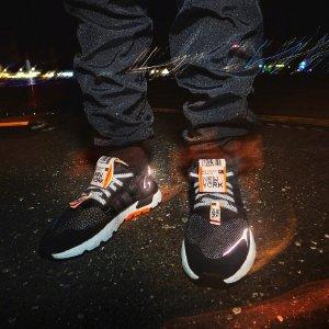 $100起 + 无门槛包邮adidas官网 Nite Jogger系列开售 3M反光潮流带你飞