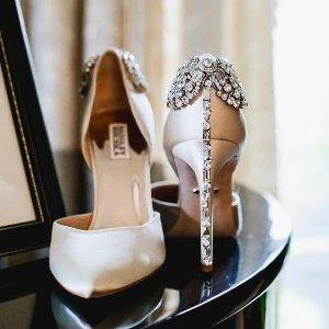 低至6折 MB平价代替Badgley Mischka 水晶鞋,钻扣鞋热卖