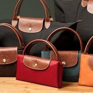 低至2.5折 仅€50收珑骧双肩包轻奢手袋包包热促 好价收Longchamp饺子包、Coach斜挎包