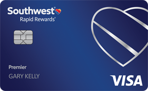 Earn 40,000 pointsSouthwest Rapid Rewards® Premier Credit Card