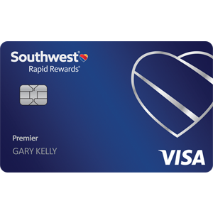 Earn up to 60,000 points.Southwest Rapid Rewards® Premier Credit Card