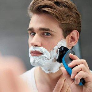 2个直邮加拿大到手价$146飞利浦 5000系列剃须刀 可干湿双剃 5向双层刀头 精准剃须