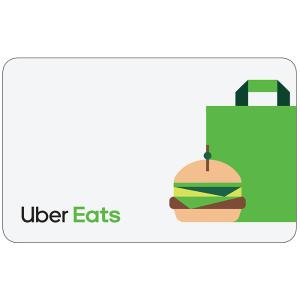 Uber Eats $100 电子礼卡限时优惠