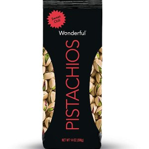 Wonderful Pistachios 甜辣口味开心果 14oz