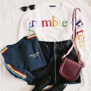 4折Abercrombie & Fitch官网 精选男款和女款服装促销