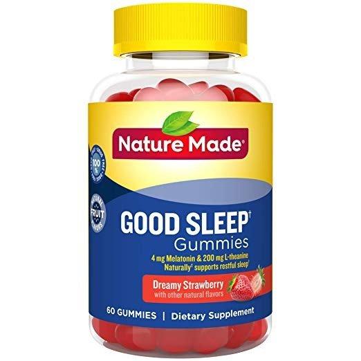 睡眠辅助软糖 60粒