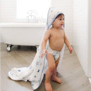 9折aden + anais 婴幼儿浴巾、沐浴液、口水巾等优惠