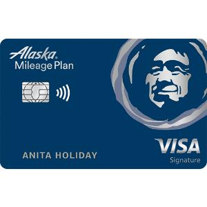 $100 Statement Credit and 40,000 Bonus Mile OfferAlaska Airlines Visa Signature® credit card