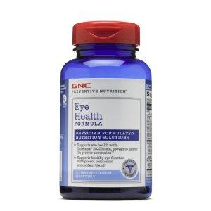 $8.99起 上班族必备GNC 护眼护肝保健品 收Preventive Nutrition系列