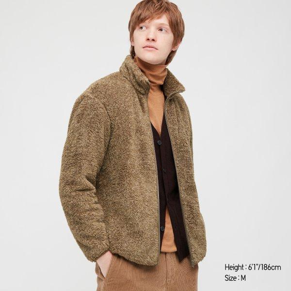 男士毛毛外套