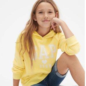 额外6折 新品和特价区都参加限今天:Gap 官网儿童服饰、鞋子等全场优惠