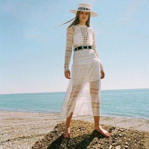 低至4折 超低价收度假风美裙Intermix 夏日专场 Self-Portrait美衣$69起,A王上衣$99