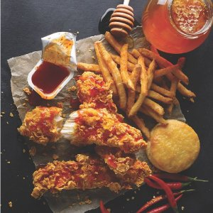 Free Large Side w/ Family MealPopeyes Current 8 Deals