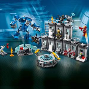 仅£43.99(原价£54.99)史低价:Lego 复联4钢铁侠机甲陈列室 76125