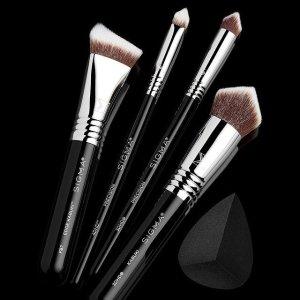 低至5折 E70仅$10Sigma Beauty 彩妆刷大促 化妆新手必备 收E55