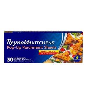 Reynolds 不粘烘焙纸 30张, 烘焙必备