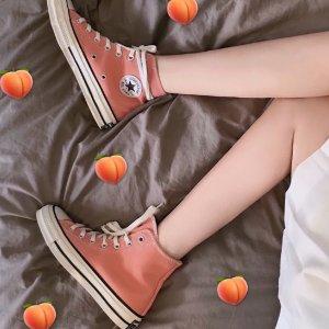 Converse行走的水蜜桃!CHUCK 70 蜜桃色