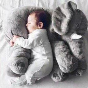 低至2.7折 软萌小可爱守护你的香甜梦境Baby Elephant 超萌的小象抱枕折扣热卖