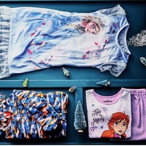 低至3.5折 超多Frozen 图案睡衣和家居服即将截止:aden+anais, Character Sleepwear 等童装品牌儿童家居服优惠