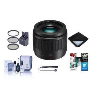 Panasonic 25mm f/1.7 Lumix G 定焦镜头套装