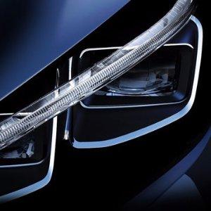 2017年年中发布Nissan流出大改款纯电动车LEAF预告图
