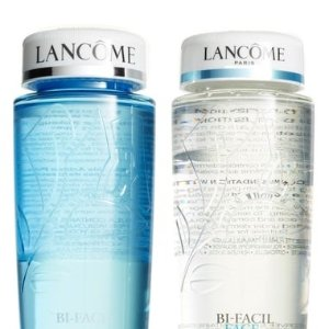 $54($80 Value)Lancôme Bi-Facil Makeup Remover Duo @ Nordstrom