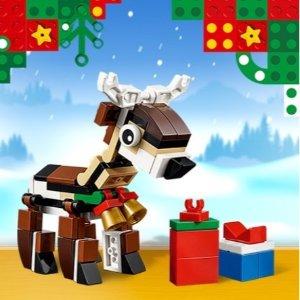 免费送驯鹿小套装LEGO 乐高官网 全场购满$35送圣诞好礼