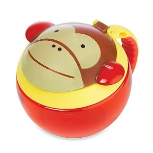 SKIP*HOP® Zoo 7.5 oz. Snack Cup in Monkey - buybuy BABY