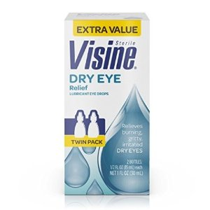 $7.17 缓解眼睛干涩Visine 滋润眼药水 干眼族必备 2瓶入